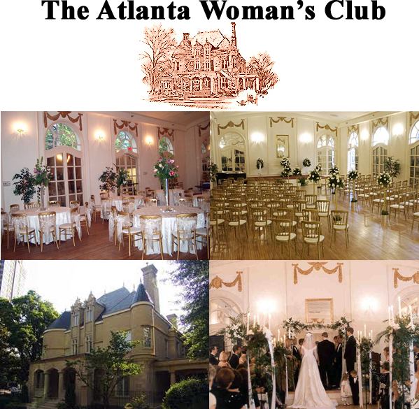 The Atlanta Woman's Club Venues - Atlanta Venues Rentals Atlanta Venues Organizer Atlanta Wedding Venues