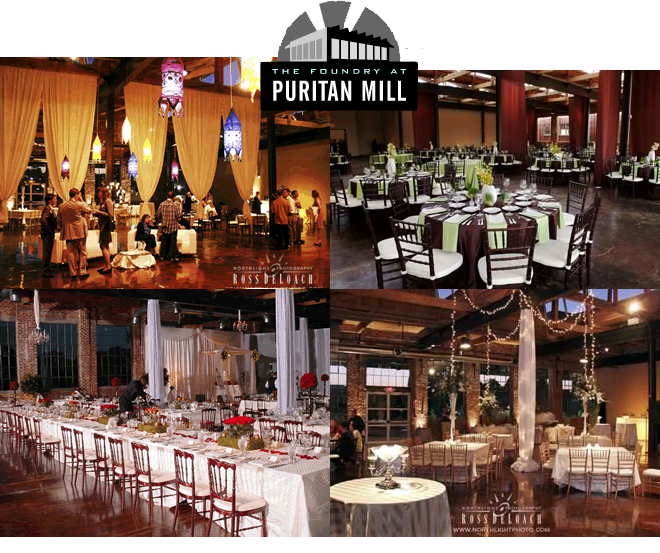 The Foundry at Puritan Mill - Atlanta Venues - Atlanta Venues Rentals Atlanta Venues Organizer Atlanta Wedding Venues