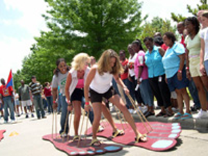 Team Building Games   Party in a Parking Lot