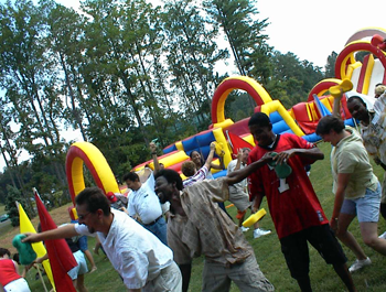 Corporate Team Building Games | Total Team Challenge