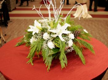 whiteflowercenterpeice